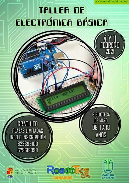 Villa de Mazo imparte un taller de electrónica básico a los jóvenes del municipio
