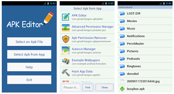 Screenshot APK Editor Pro v1.10.0 Premium