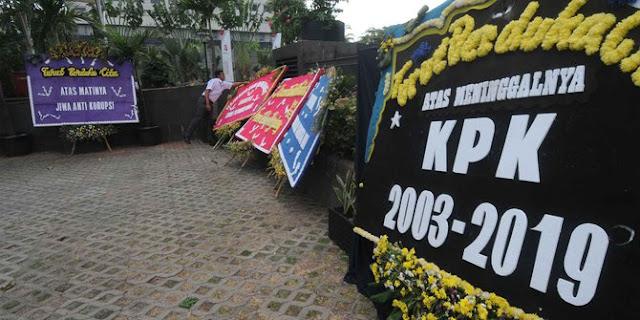 Soal Revisi UU KPK, LSM Sebut Taipan Tengah Menagih Janji