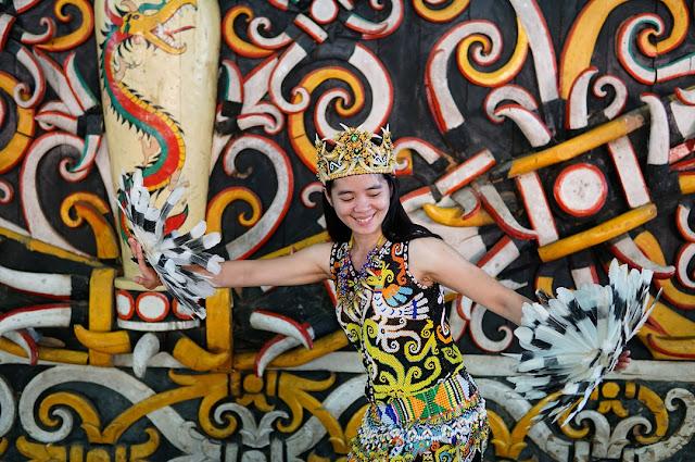 Desa Budaya Pampang Kalimantan Timur