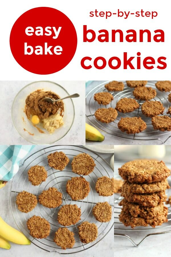 easy bake banana cookies