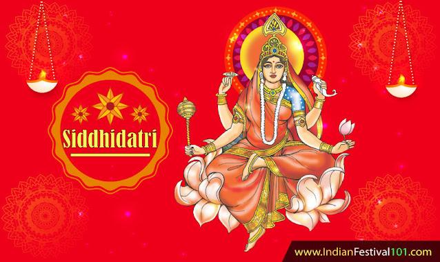 Maa Siddhidatri Ninth Day of Navratri