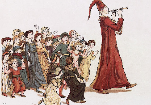 Image: The Pied Piper of Hamelin, by WikiImages on Pixabay