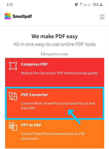 Cara Mengubah Word Ke PDF Di HP Tanpa Aplikasi Menggunakan SmallPDF
