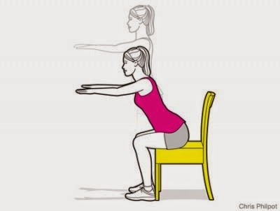 Chair Squats