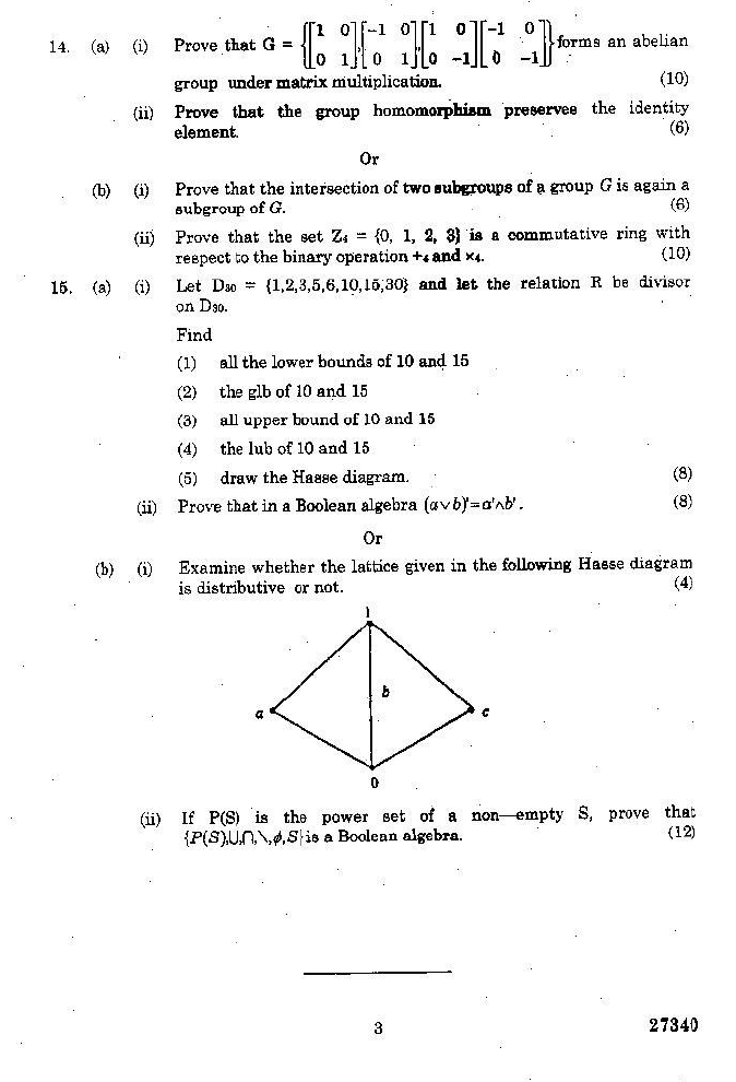 MA6566 Discrete Mathematics Nov Dec 2015 Question Paper