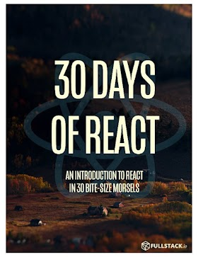 Reactjs : 3O DAYS OF REACT