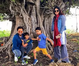 Riteish-with-Childrens