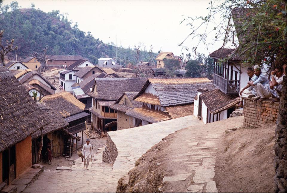 Old image of Chainpur, Sankhuwasabha