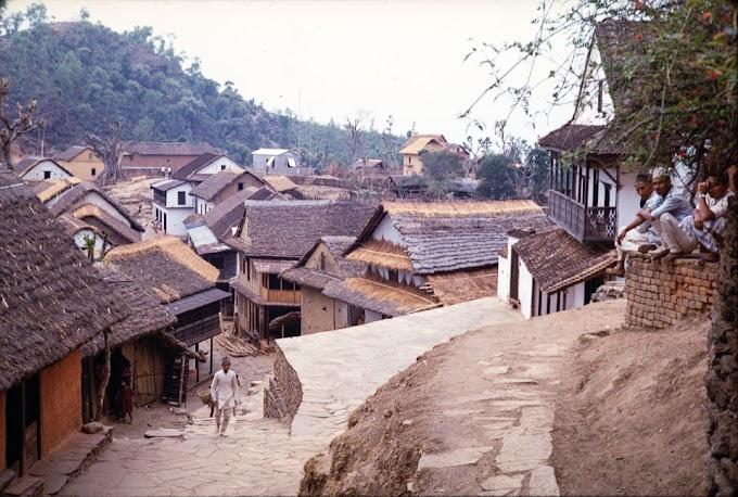 Old image of Chainpur, Sankhuwasabha during 1968