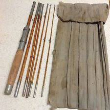 Antique Bamboo Fly Fishing Rods