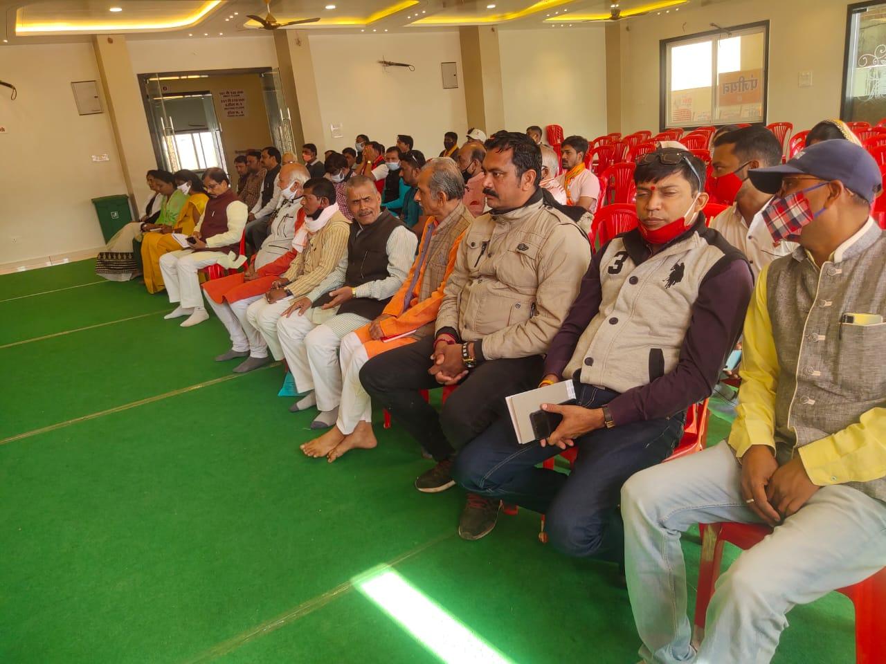 भाजपा नगर मंडल झाबुआ के दो दिवसीय प्रशिक्षण वर्ग का हुआ समापन