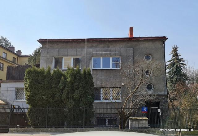 Warszawa Warsaw funkcjonalizm modernizm architektura architecture Saska Kępa lata 30 willa dom