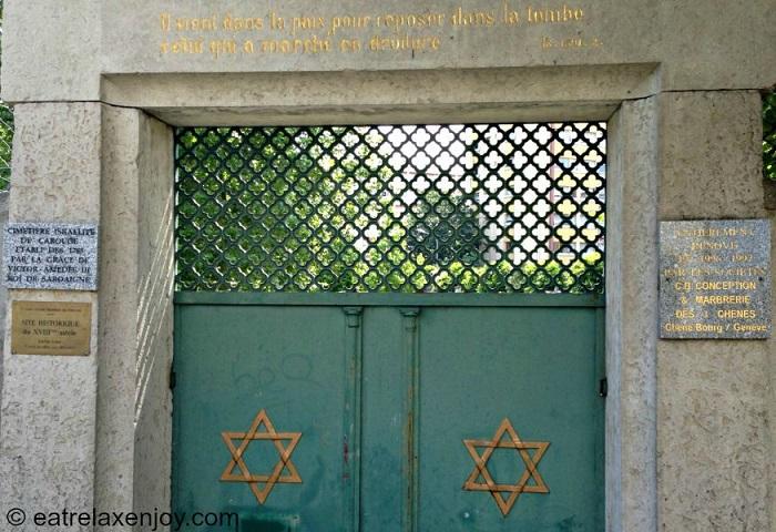 סיור בקארוז' ובבית הקברות היהודי בג'נבה