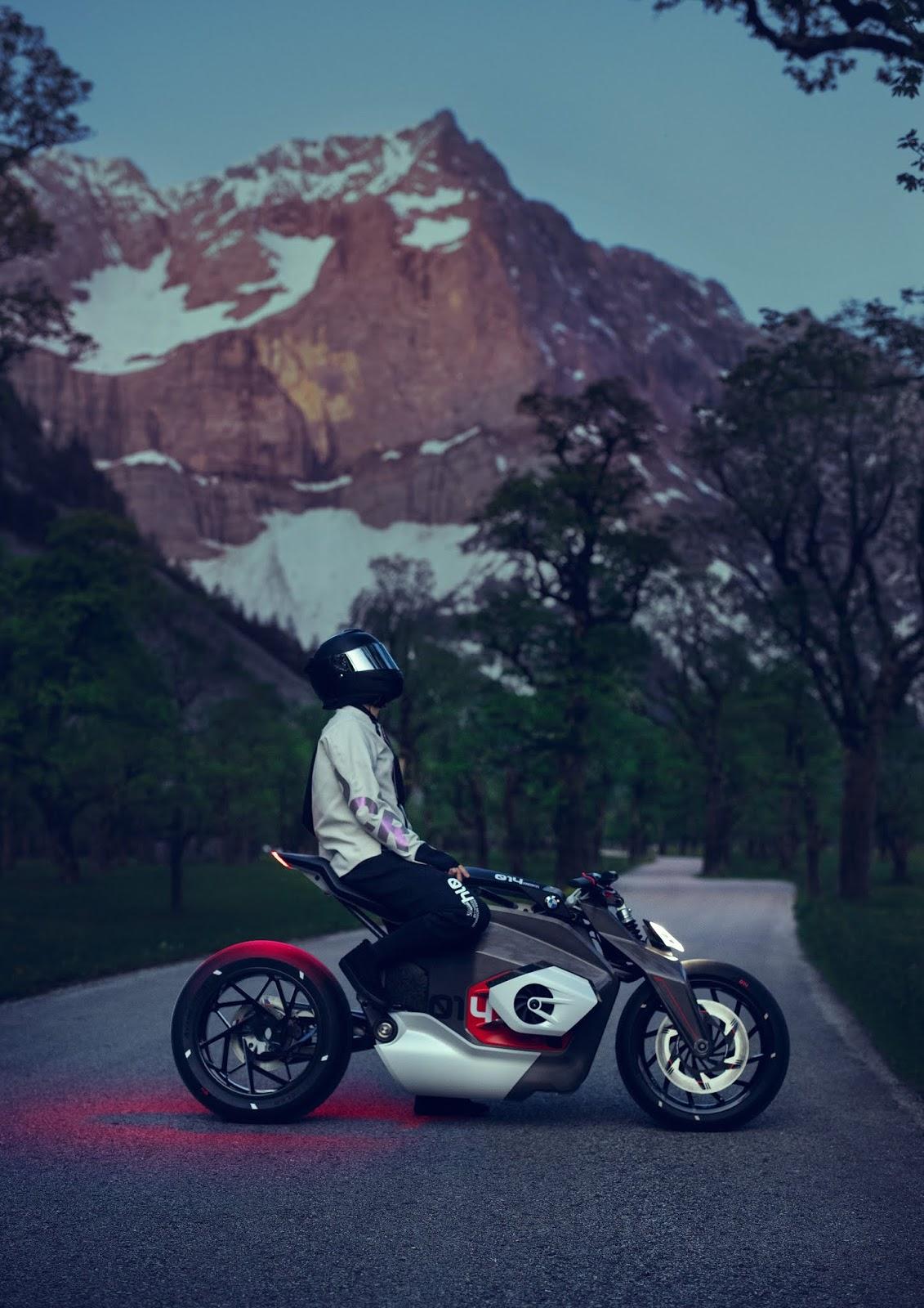 BMW Motorrad Vision DC Roadster oder die elektrische Erweckung des Boxermotors