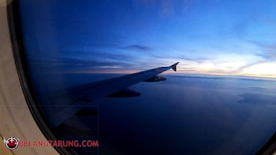 Permandangan Tingkap Airasia Sunrise