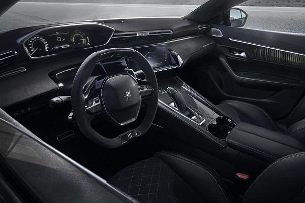 Peugeot 508 híbrido concept Interior