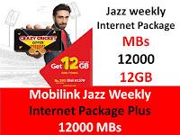 Jazz Packages, Jazz Weekly Package, Jazz weekly Plus Package, Jazz Internet Packages, Jazz Weekly Internet Package