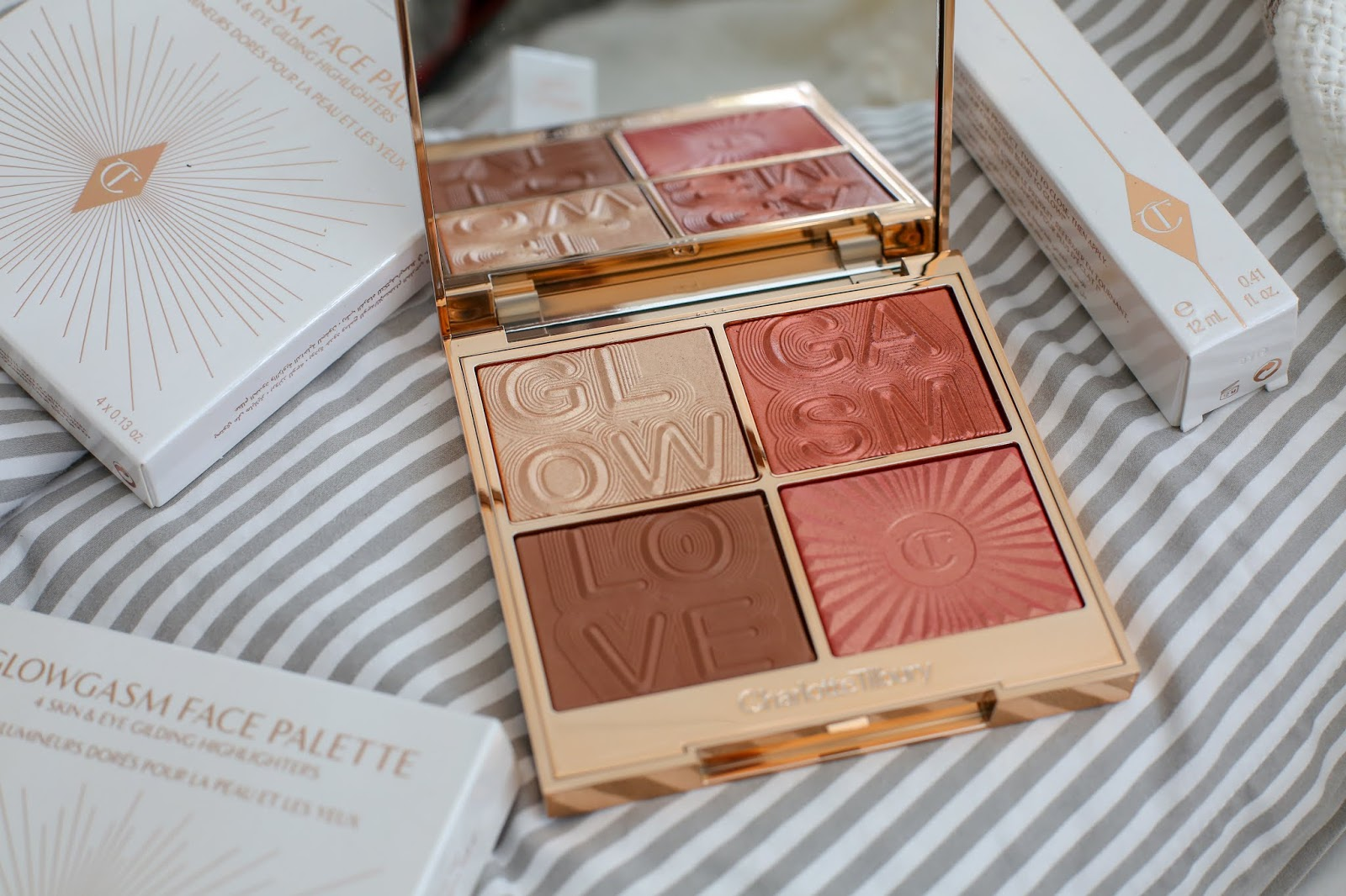 Charlotte Tilbury Lovegasm Face Palette review