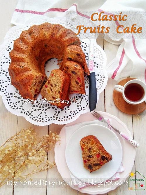 Classic Fruits Cake