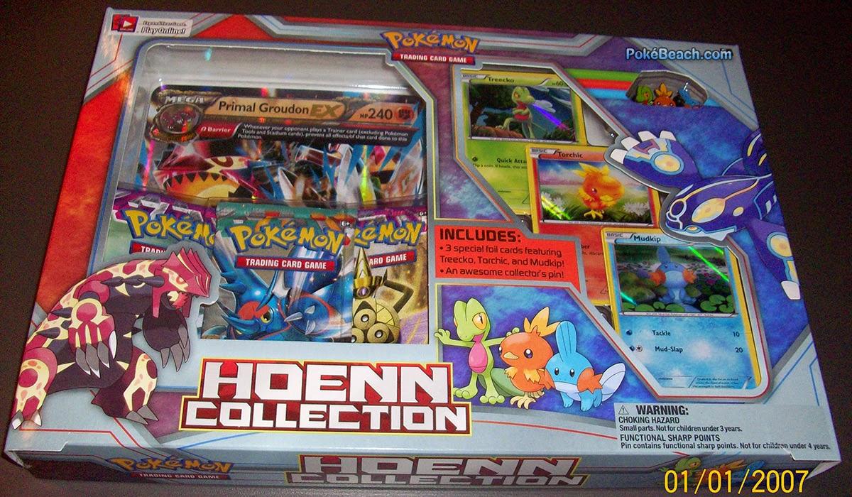 Groudon e muito mais na hoenn collection box pok 233 mon blast news