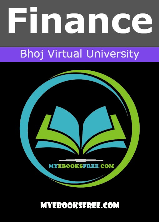 Finance Pdf Notes by Bhoj Virtual University book download