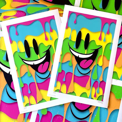 """""""Drip Phase"""" Art Print by Sket One x House of Roulx"""