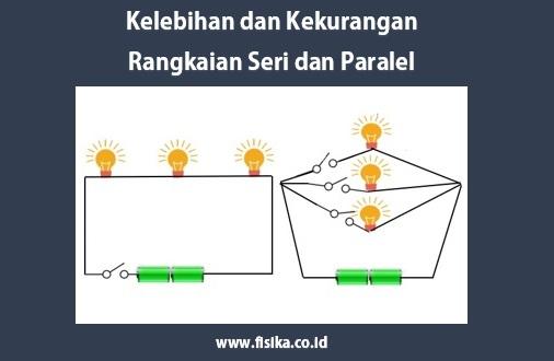 kelebihan dan kekurangan rangkaian seri dan paralel