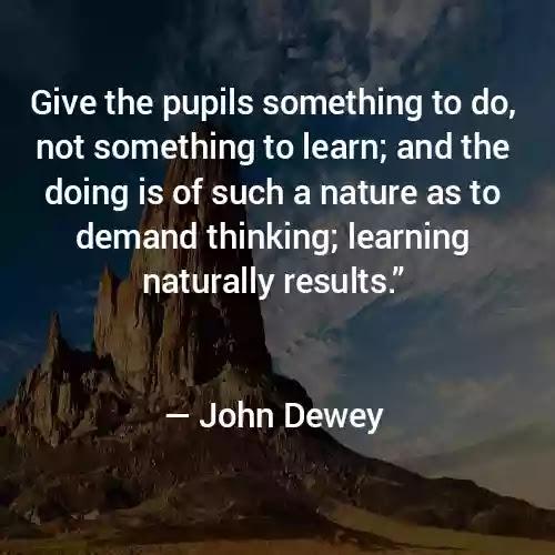 John Dewey Quotes in English