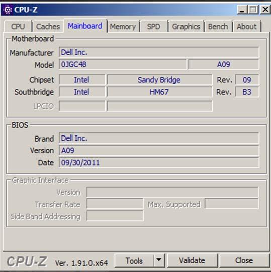 Download CPU Z - Kiểm tra CPU, cấu hình laptop miễn phí b