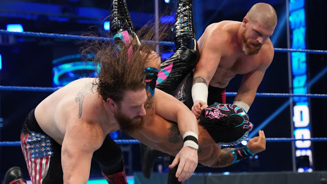 The Forgotten Sons fazem estreia no plantel principal no SmackDown