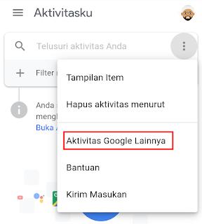 aktivitas google lainnya