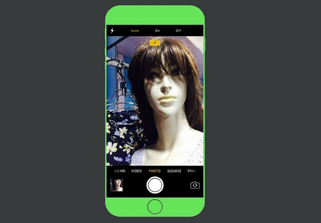 How to Turn On & Off Selfie Flash on iPhone Open the Camera app from the Homescreen, Lockscreen or Control Center as you like. Or If you have a 3D enabled iPhones you can directly go to selfie mode by 3D Touching the Camera app.