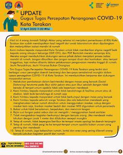 Press Release COVID-19 Tarakan 12 April 2020 - Tarakan Info