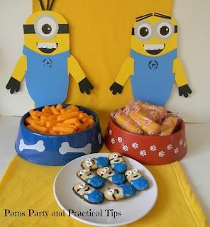 Despicable Me Party Food Ideas