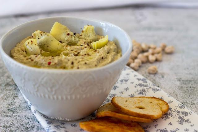 Hummus de Alcachofa de Recomiendo Blog, foto tomada por Pola