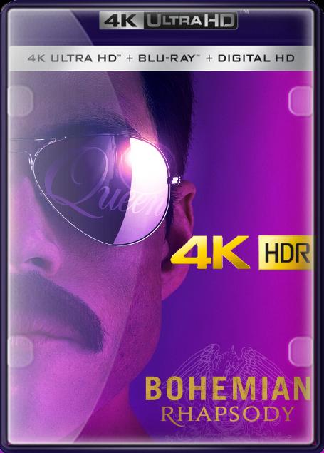 Pelicula Bohemian Rhapsody (2018) 4K UHD HDR LATINO/INGLES Online imagen