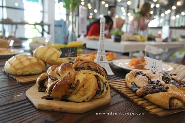 la pariz bakery batam, roti tawar kekinian