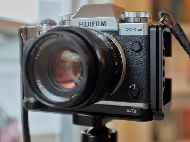 FOTOMIX CW-LB-XT3 for Fujifilm X-T3, Quick Release Plate