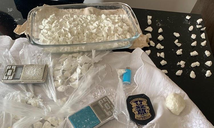 Preso suspeito de traficar drogas em bairros nobres de Vitória da Conquista