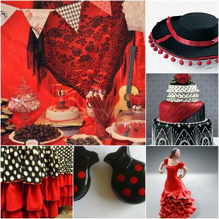 Flamenco Sweet Fifteen Theme   Quince Candles
