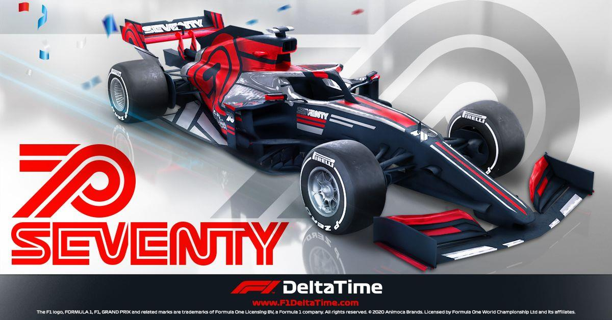 """F1 Delta Time """"70th Anniversary Edition"""" car and event segment NFTs sell for ~US$2.07 million"""