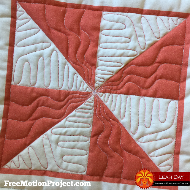 three easy longarm quilting designs