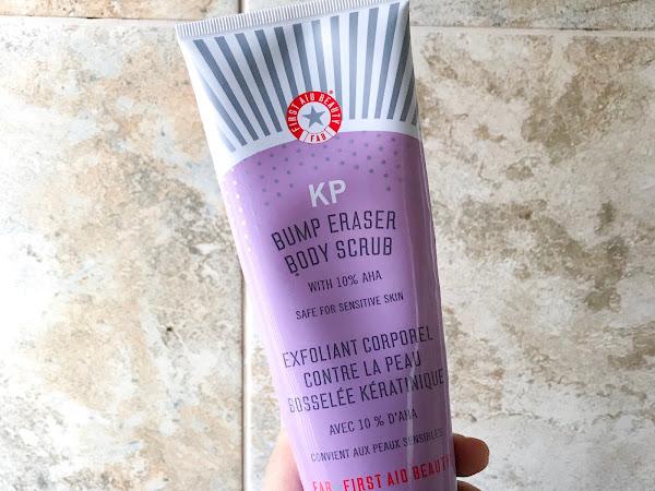 Beauty in Review: FAB KP Bump Eraser Body Scrub