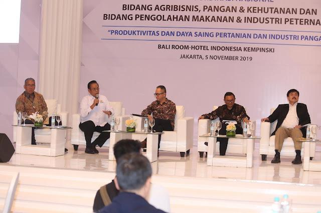 Rakornas KADIN 2019 Fokus Mengenai Daya Saing Pertanian dan Industri Makanan