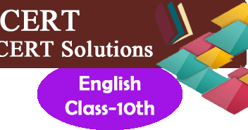 NCERT Solutions for Class 10 English - Study Rankers