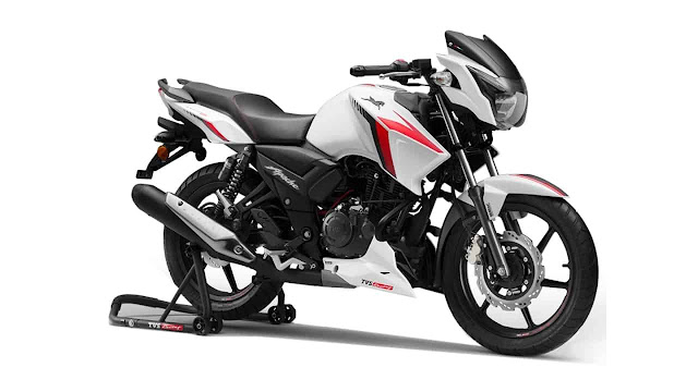 TVS Apache RTR 160 best mileage bike