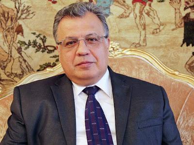 Russian Ambassador shot in Turkish capital, Ankara
