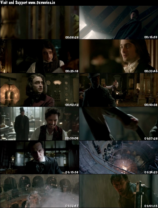 Victor Frankenstein 2015 English HDRip