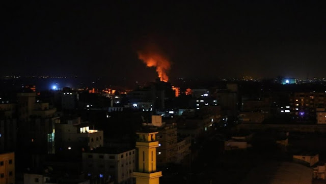 Israel Kembali Lancarkan Serangan Udara Menargetkan Lokasi Hamas di Gaza